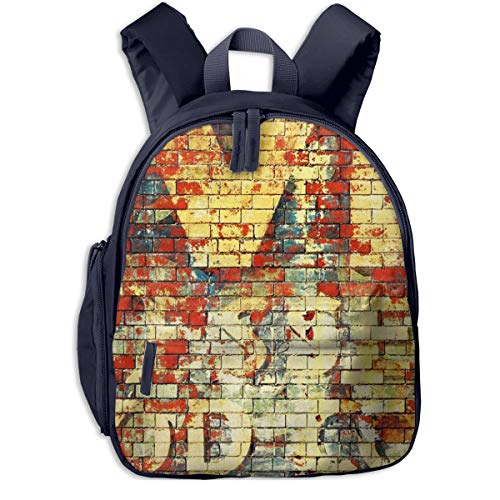 Kinderrucksack Roter Backstein 246 Babyrucksack Süßer Schultasche für Kinder 2-5 Jahre