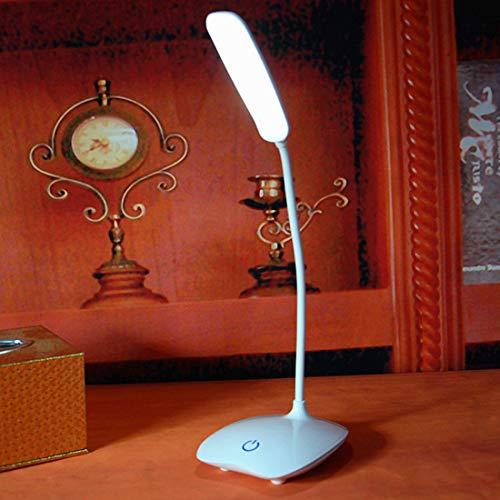 Raak lichtschakelaar tafellamp USB oplaadbare LED-leeslampjes dimbare kantoor bureau