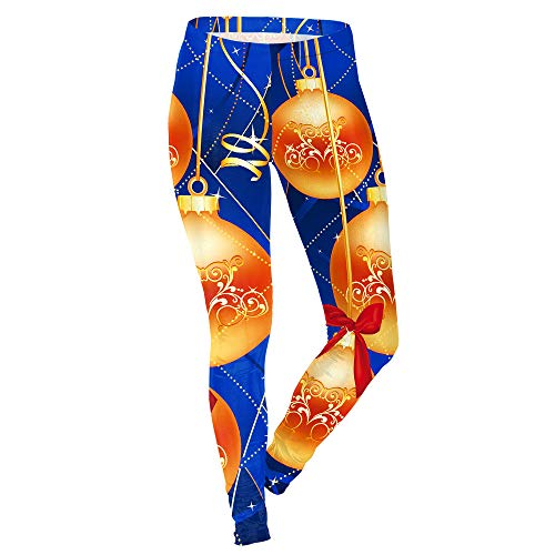 DSCX Dames Leggings Leggings Grote Maat Stretch Outdoor Kerstmis Leggings Print