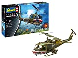 Revell RV04960, lunghezza 46 cm, 14 modellini Bell UH-1C in scala 1:35, livello 5, multicolore