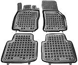Rezaw-Plast Alfombrillas de Goma Compatible con Volkswagen ARTEON (Desde 2017) + Limpiador de Plasticos (Regalo) | Accesorios Coche Alfombrilla Suelo