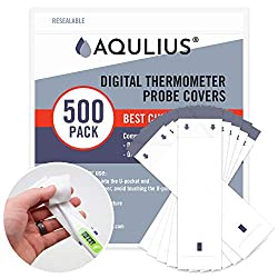 commercial Disposable thermometer probe cover for use with all digital probes (500 packs of protective sleeves)… walgreens temperature strips