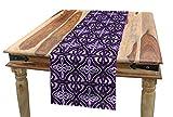 ABAKUHAUS céltico Camino de Mesa, Arte Celta Nudo, Decorativo para el Comedor o Sala de Estar Fácil de Limpiar, 40 x 180 cm, Violeta Lila