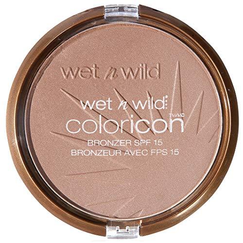 Wet N Wild - Coloricon Bronzer SPF 15 - Bronzer für einen natürlich gebräunten Look mit Lichtschutzfaktor 15, Bikini Contest, 1er Pack, 13g