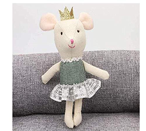 stogiit Peluche Little Mouse Peluche Doll Decorazione per la casa adatta a qualsiasi Bambino