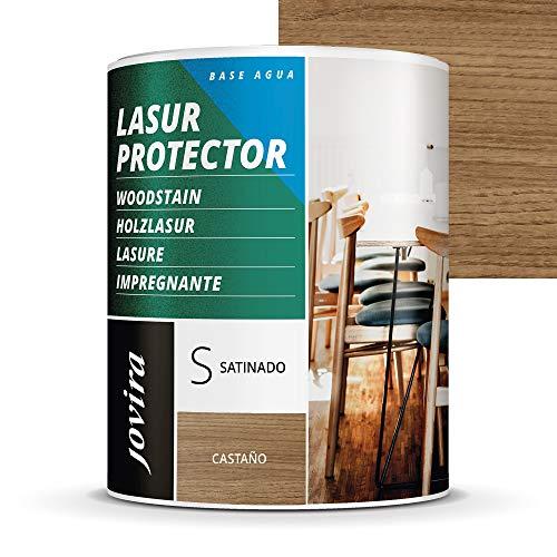 LASUR PROTECTOR AL AGUA SATINADO (2,3 L, CASTAÑO)