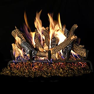 Best real fyre charred oak vented gas log set Reviews