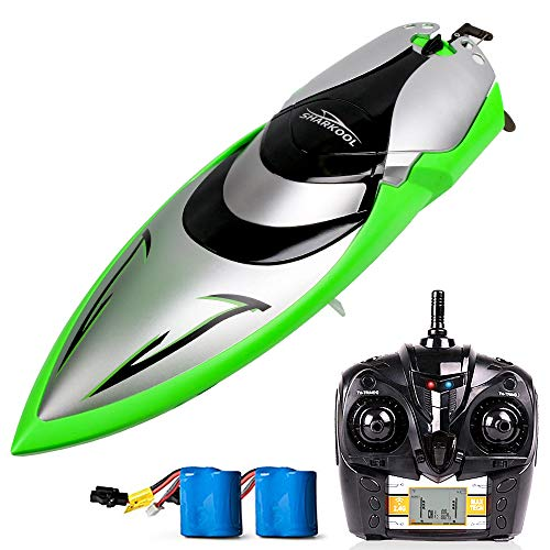 Our #2 Pick is the SHARKOOL H106 Rc Self Righting Racing Boat