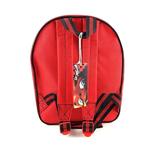 51W6mTRc0XL. SS600  - Miraculous Ladybug Mochila Infantil Escolar 3D niña 33cm (EVA-460-8358)
