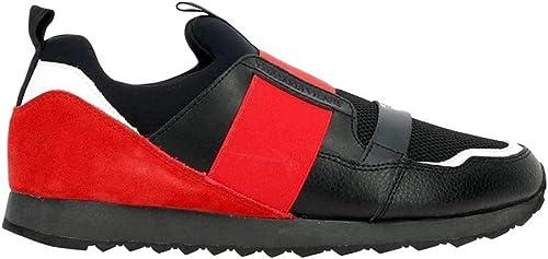 77A00102-9Y099999 R680 rojo negro TJ zapatos Turnzapatos hombres