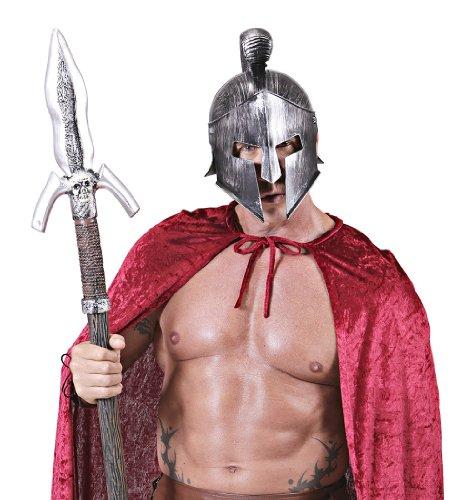 Lote de 3 cascos gladiadores romanos de plata para adulto, talla nica, gorro, gorro, gorra, tocador, accesorio de disfraz y disfraz