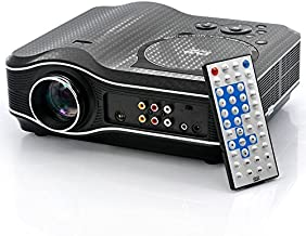 Yunanwa LED Projector with DVD Player 800x600 30 Lumens 100 1 Multimedia Home Theater