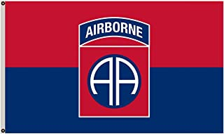 Flylife Large Flag United States Army 82nd Airborne Division Flag 3x5ft banner