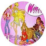 Cute Phones The Winx Club Rugs - Alfombra de piso para niños, sala de juegos, sala de estar, dormitorio