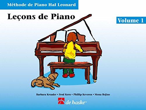 LecOns De Piano, Volume 1 (Avec CD): MeThode De Piano Hal Leonard