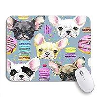可愛いマウスパッド 80円目唇とクラウンサイケデリックパイント滑り止めゴムバッキングコンピューターマウスパッド用ノートブックマウスマット