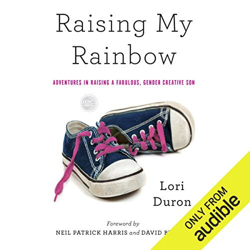 Raising My Rainbow audiobook cover art