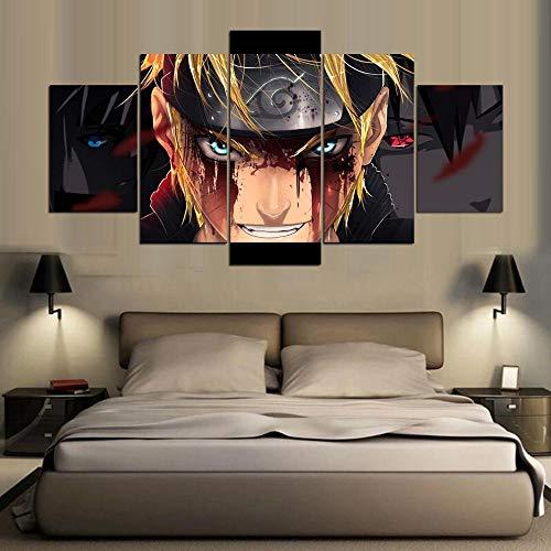 YB Canvas Print Schilderij Wandkunst Levi Ackerman Aanval op Titan Anime Poster Afbeeldingen voor de woonkamer 30x45cm-2p 30x60cm-2p 30x75cm-1p Geen lijst