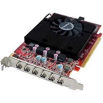 VisionTek Radeon 7750 2GB GDDR5 6M (6x miniDP, 6x miniDP to HDMI Adapters) Graphics Card - 900880
