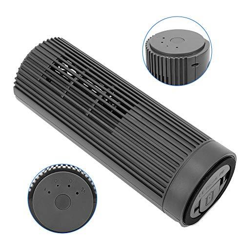 Generador de ozono, limpiador de agua de aire USB, esterilizador de ozono multifuncional limpiador de aire esterilizador de aire limpiador de aniones de carga esterilización de ozono limpieza de elimi