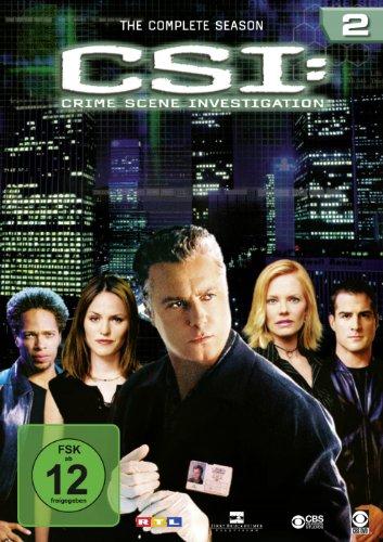 CSI: Crime Scene Investigation - Season 2 [6 DVDs]