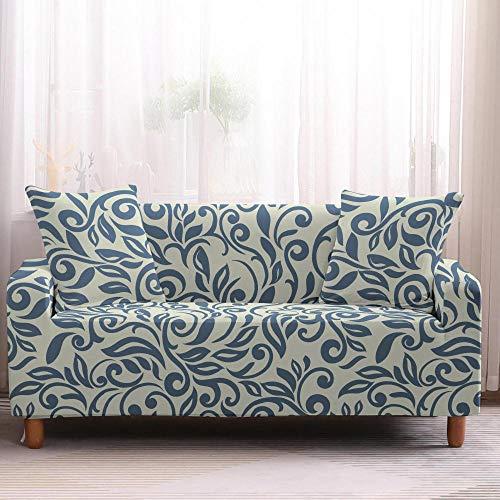 Protector de muebles todo incluido, fundas antideslizantes para sofá bohemia, elástica, fundas para sofá de 3 plazas, color 2
