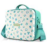 Switch Travel Carrying Case, Animal Crossing design, Deluxe Protective Hard Shell Carry Bag Fits Pro Controller for Switch Console & Accessories