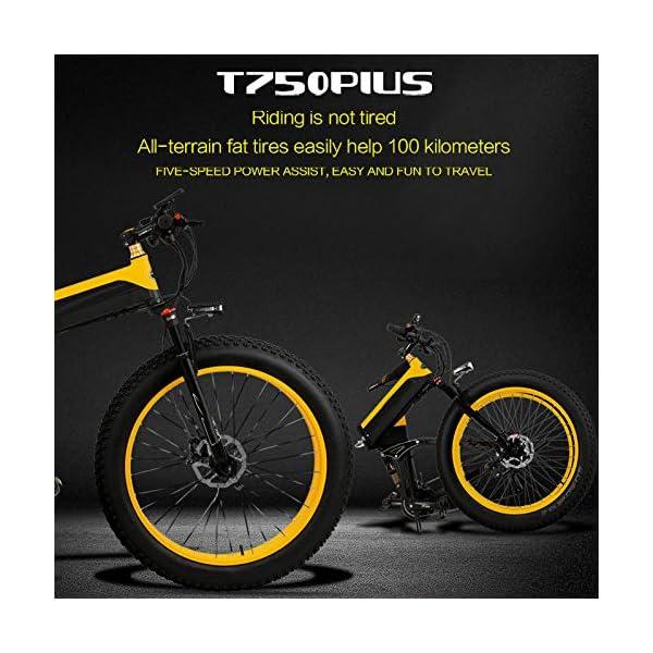 51W6tInAiuL. SS600  - Dušial Elektro Fahrrad 500 Watt 48 V e-Bike Pedelec Faltbares Elektrofahrrad Elektrisches Fahrrad Damen Herren Mountain E-Bike für Erwachsene