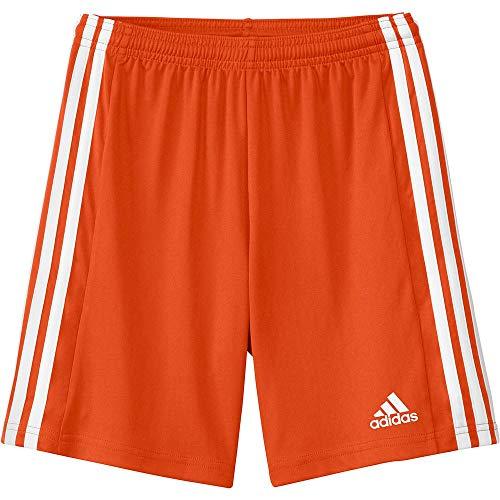 adidas Squad 21 SHO Y – Pantaloni Corti per Bambini, Bambino, Pantalone Corto, GN8082, (Teorea)/Bianco, 12 Anni