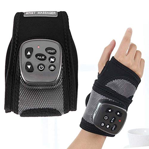 Wrist Brace, Hand Compression Carpal Tunnel Wrist Support Multifunctional Electric Wrist Heating Brace and Hand Pain Relief, Removable Splint Suitable for Both Right and Left Hands (Hand)