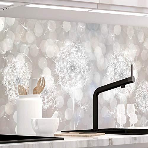 StickerProfis Küchenrückwand selbstklebend - SOMMERWIND - 1.5mm, Versteift, alle Untergründe, Hart PET Material, Premium 60 x 280cm