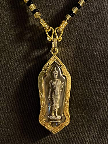 San Jewelry Thai Buddha Amulet The Daily Monday As Pang Buddha Image Style Coin Holy Lucky Rich Charm Pendant