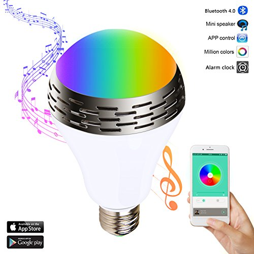 Miric Bombilla Musical Inteligente Luz LED Colores