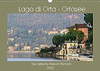 Lago di Orta - Ortasee (Wandkalender 2022 DIN A3 quer): Der Ortasee, die idyllische Seenperle des Piemont (Monatskalender, 14 Seiten )