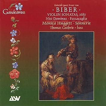 Biber: Violin Sonatas, 1681