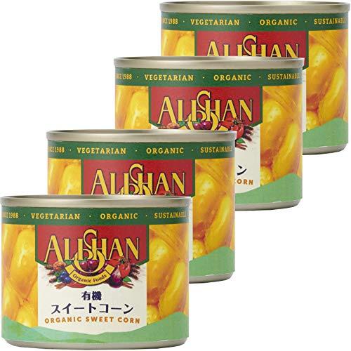 アリサン スイートコーン缶スモール 125g×4個