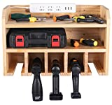 Power Tool Organizer, Power Tool charging station, Drill Charging Station, Drill Holder Storage Wall Mount Shelf Rack, Cordless Drill Tool Organizer, Cordless Drill Storage, Power Tool Storage Rack