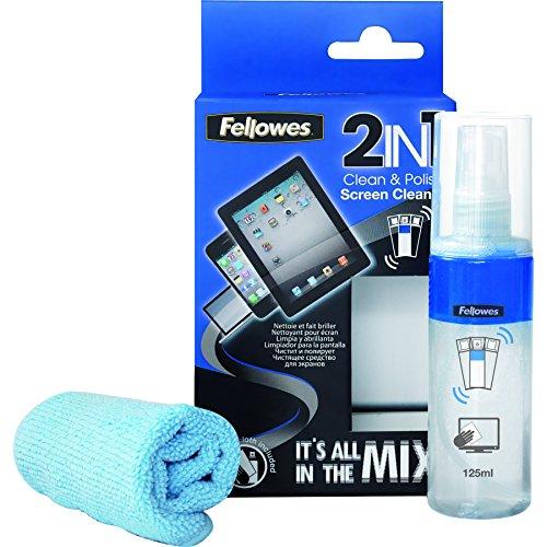 Fellowes 9922101 Detergente per Schermo 2 in 1 Pulisci...
