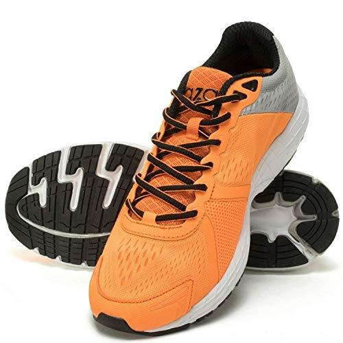 AZANI Hyper Glide Running Shoe - Orange/Grey - UK 11