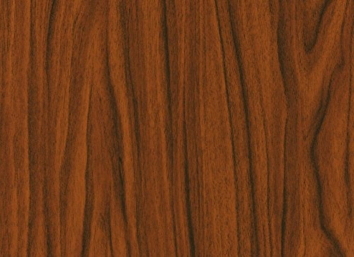 d-c-fix, Folie, Holz, Nussbaum gold, selbstklebend, 45 cm breit, je lfm