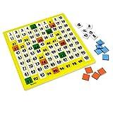 Learning Resources- Tablero de Cien números, Multicolor (LER1331) , color/modelo surtido