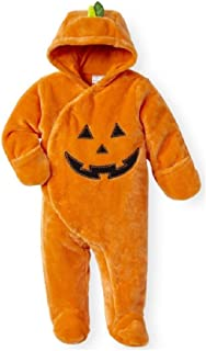 Koala Kids Baby Infant Orange Pumpkin Jack O Lantern Plush Costume Pram