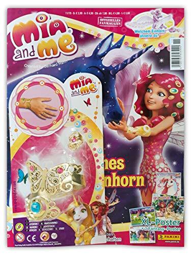 Mia and Me Magazin 11/2019 mit 2 XL-Postern Comics und Mia's Armreif und Ring