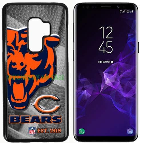 Bears Chcago Football New Black Samsung Galaxy S9 Case by Mr Case