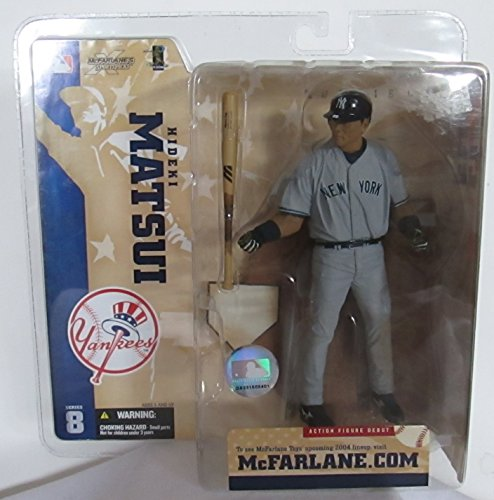 McFarlane MLB Series 8 HIDEKI MATSUI #55 - New York Yankees Sports Picks Figure
