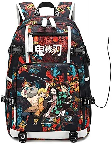 Anime Demon Slayer Kamado Nezuko Girl Bag Student School Backpack Travel Bag New