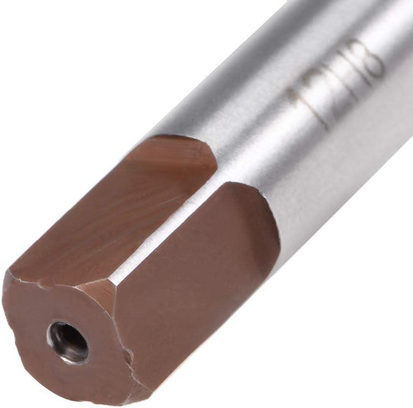sourcing map Tige H8 al/ésoir machine coupe 3mm Dia 6 Flutes part outil Fraise