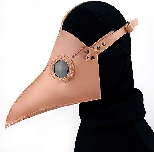 GY Halloween Horror Maske, Halloween Cosplay Neuheit Maske, Top Craft, Maske Party Essential, Braun, Universelle Größe
