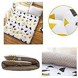 ZH Boden Tatami-Matte, Schlafmatratzenauflage Pad Folding Dicker, Futon-Matratze Kissen, Studentenwohnheim Schlafmatte (Color : G, Size : 0.9m Bed) - 5