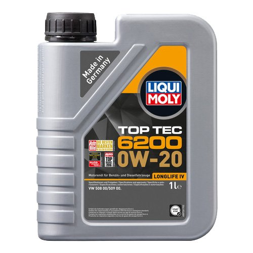 LIQUI MOLY 20780 Motoröl Top Tec 6200 0W-20, 1 L